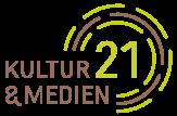 Logo Kultur und Medien 21